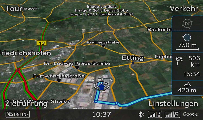 Audi A3 4G/LTE