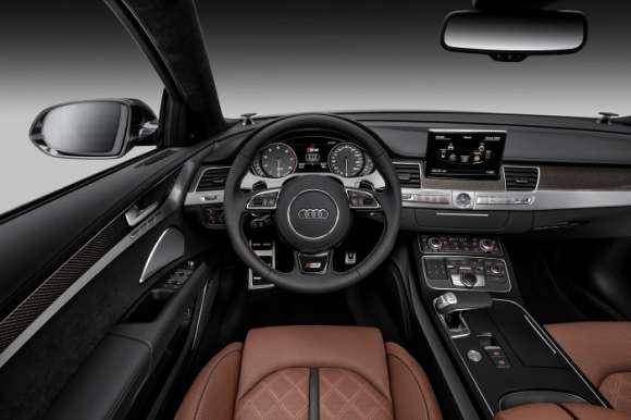 Nowe Audi A8 facelift interior wnętrze