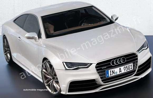 Nowe Audi A9 rendering