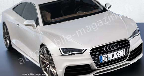 Audi A9 rendering