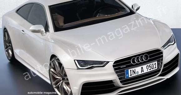 Audi A9 rendering