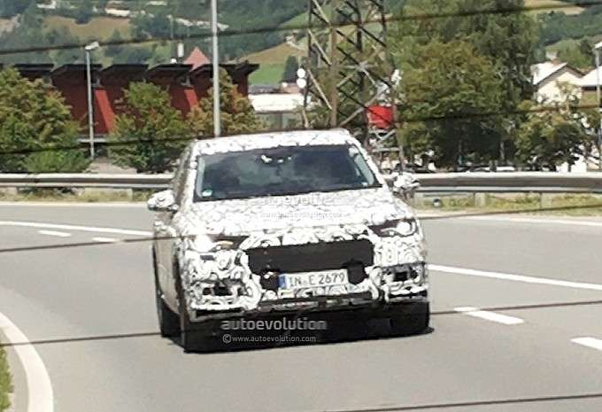 Audi Q7 2015 szpiegowskie