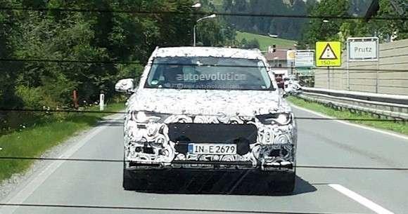 Nowe Audi Q7 szpiegowskie