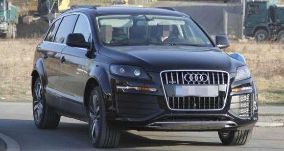 Audi Q7 2014 mule car