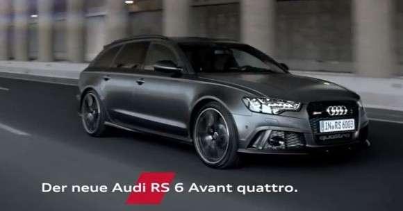 Nowe Audi RS6 reklama