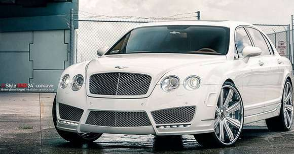 Bentley Continental Flying Spur Vellano Wheels