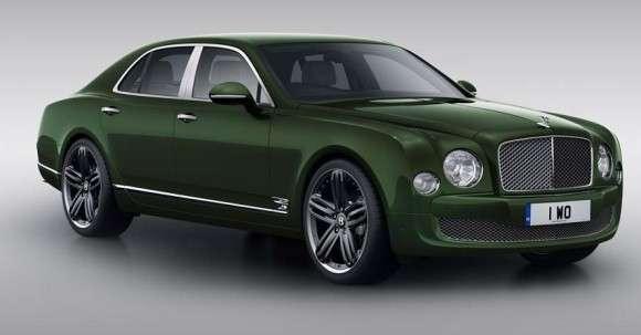 Bentley Mulsanne specjalna edycja