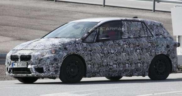 BMW serii 1 GT szpiegowskie
