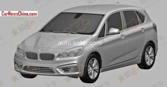 BMW serii 1 GT rysunki patentowe