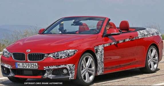 BMW serii 4 Cabrio szpiegowskie