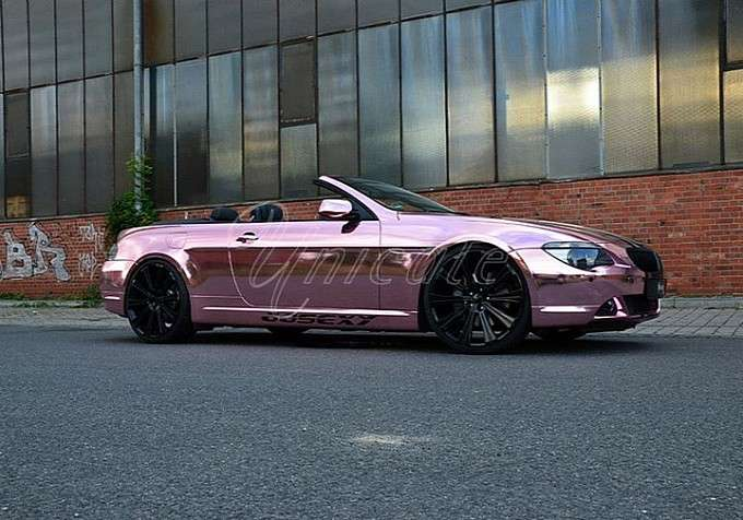 BMW 6 PINK