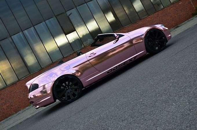 BMW serii 6 tuning róż