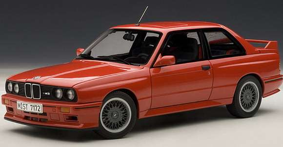 BMW M3 Sport Evolution 1990 1:18