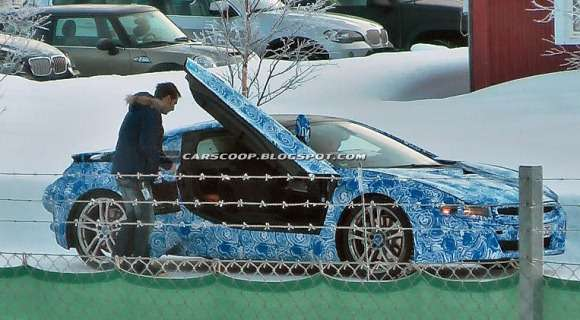 BMW i8 szpiegowskie