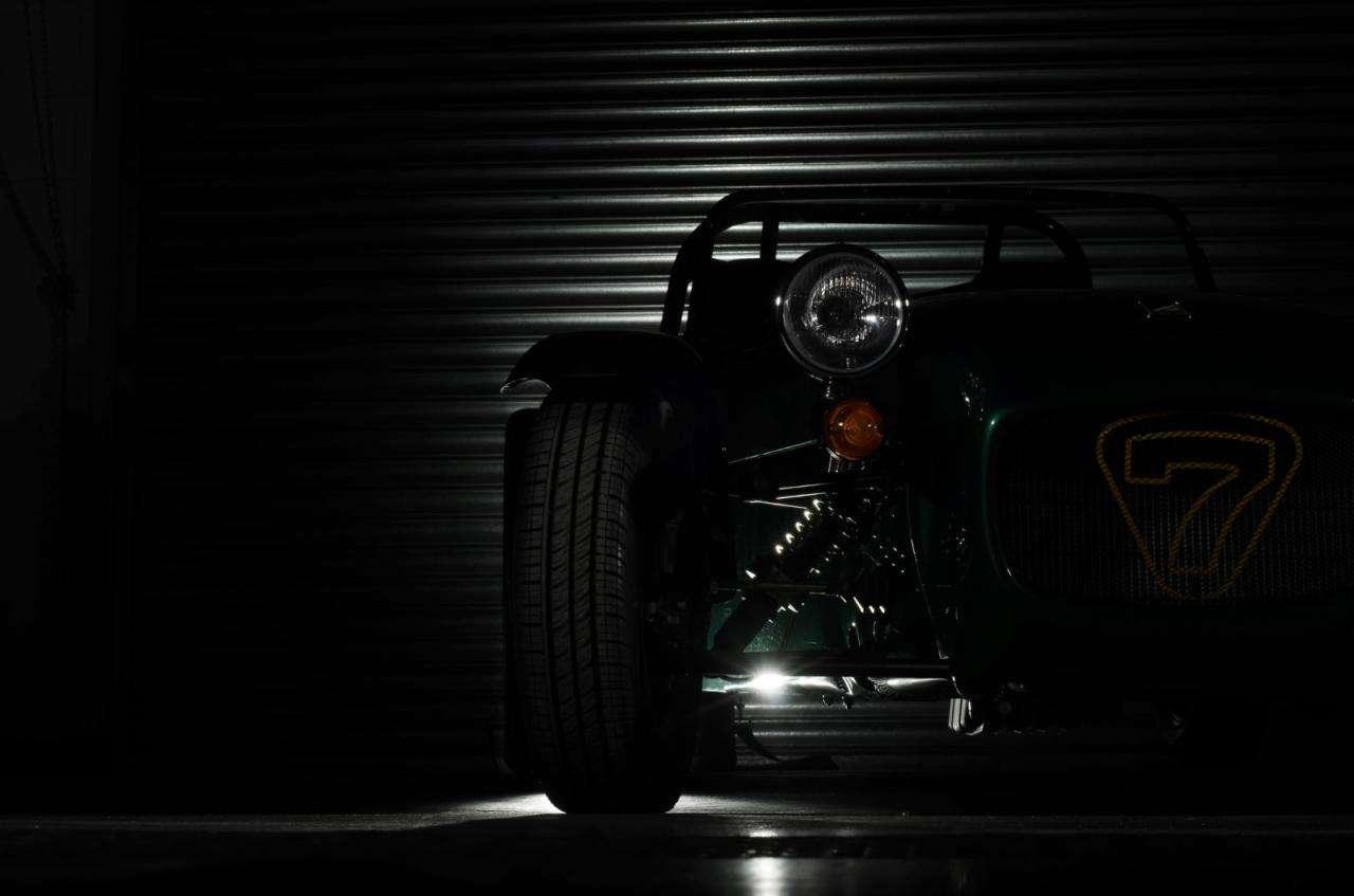 Caterham Seven teaser silnik