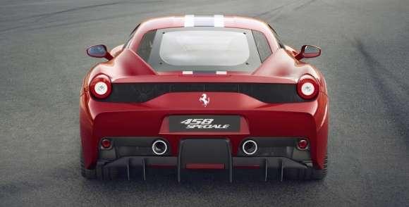 Ferrari 458 Speciale tył rear