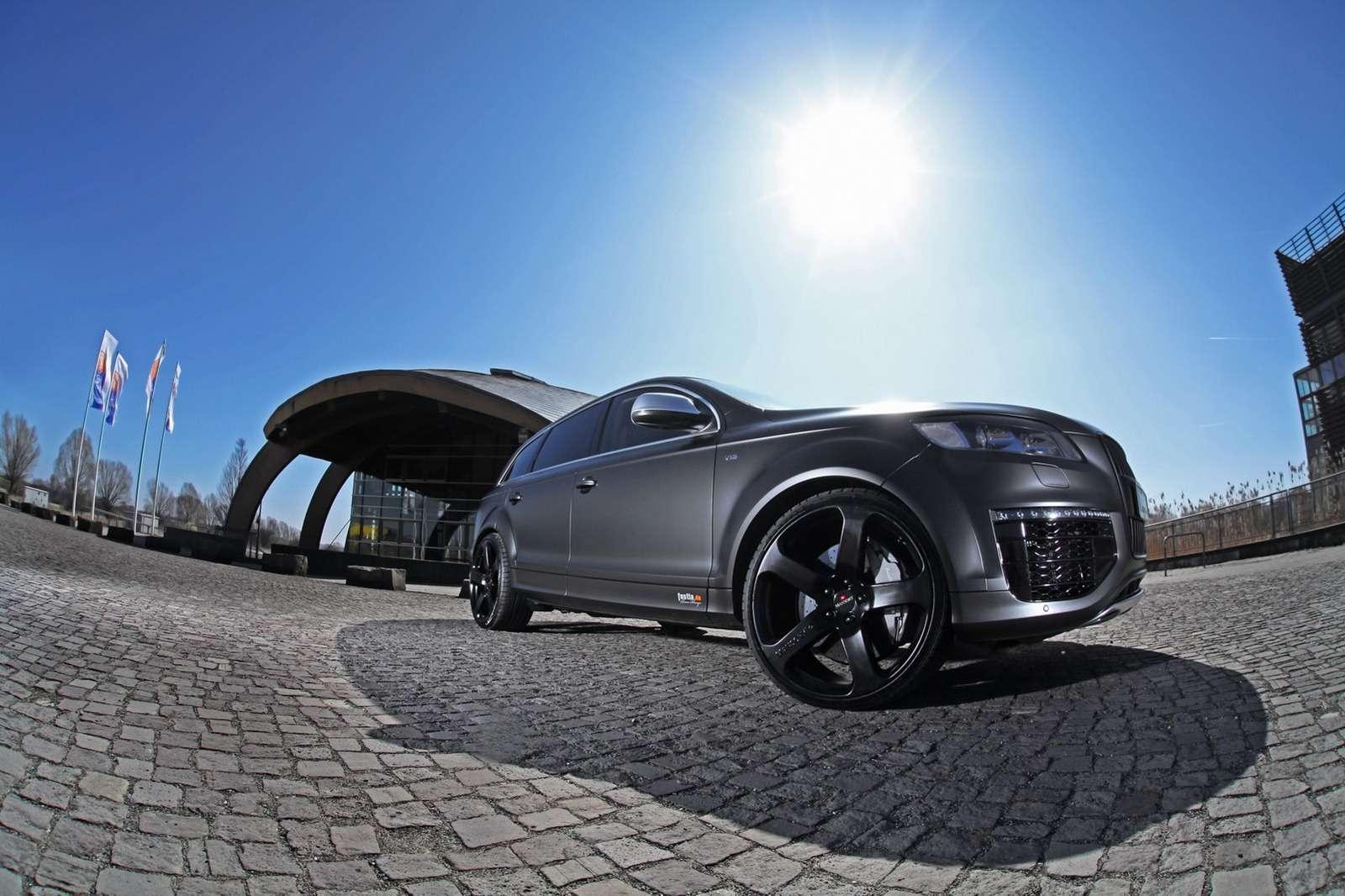 Audi Q7 V12 TDI Fostla tuning