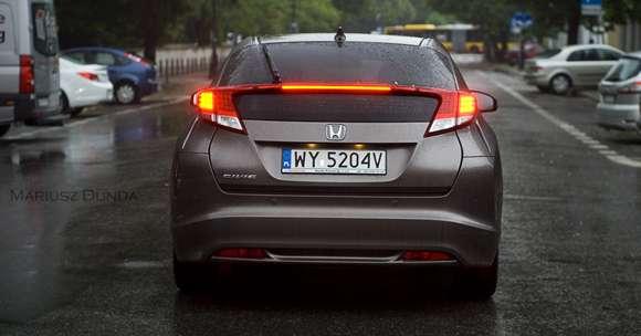 Nowa Honda Civic w dieslu tył