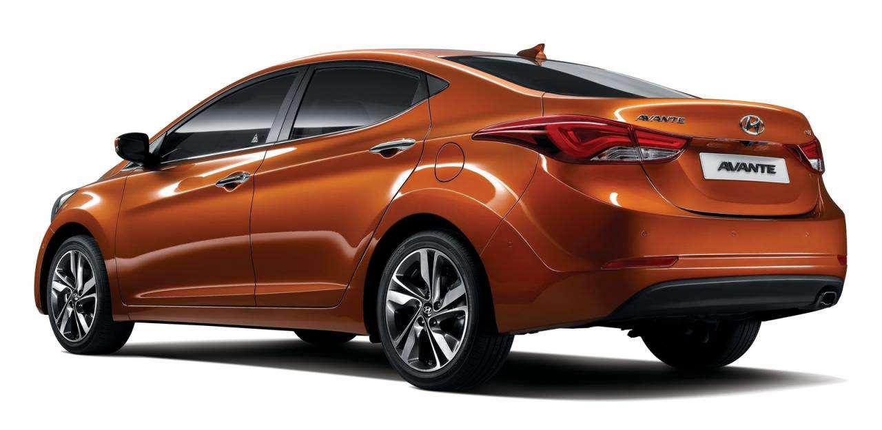 Hyundai Avante Elantra 2014