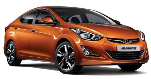 Hyundai Avante / Elantra 2014 facelift