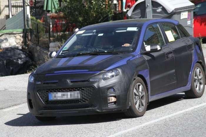 Hyundai i20 2014 szpiegowskie