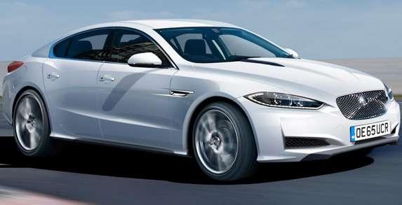 Jaguar XJ rendering 2016