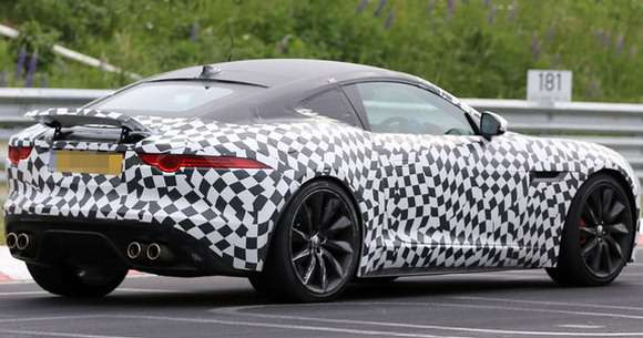 Jaguar F-Type szpiegowskie