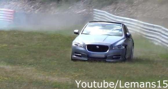 Wypadek Jaguar XJ Supersport Nurburgring