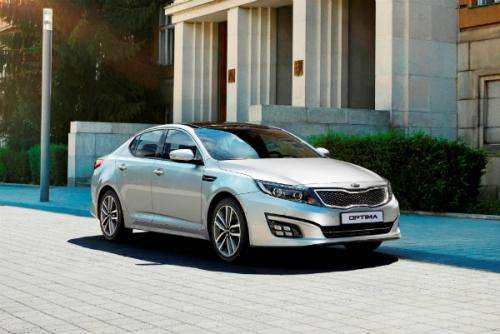 Kia Optima facelift 2014