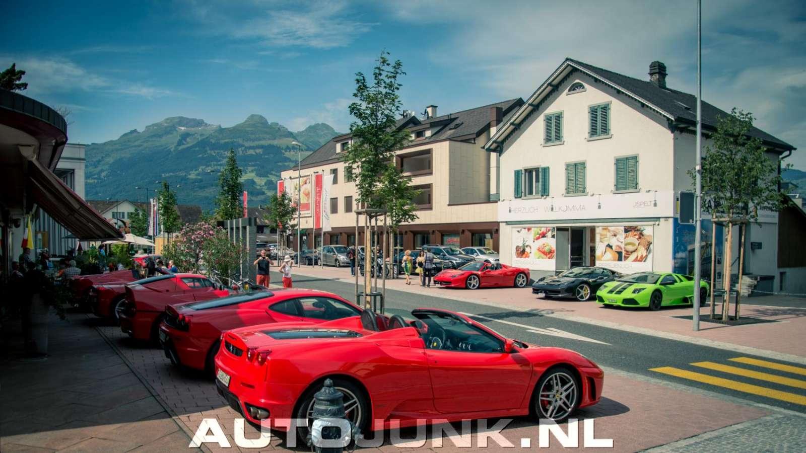 Kolekcja supersamochodów Liechtenstein
