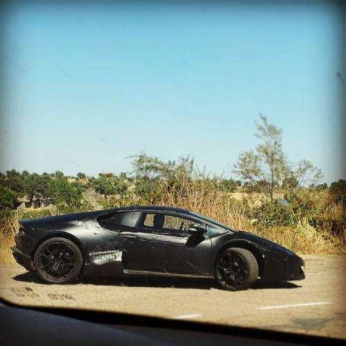 Lamborghini Cabrera szpiegowskie