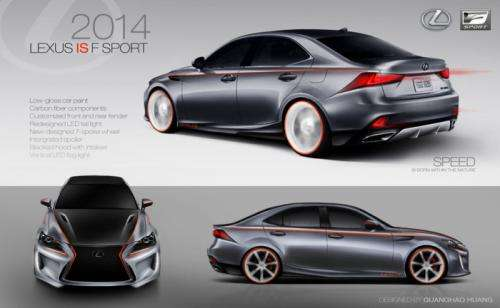 Lexus IS design challenge
