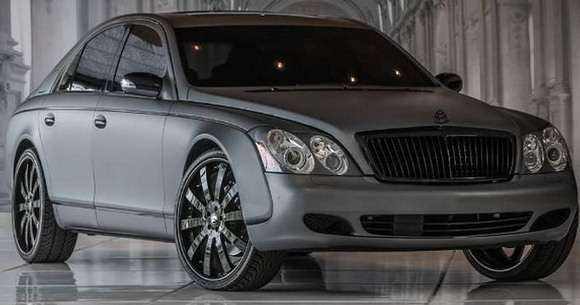 Maybach 57 Frozen Grey