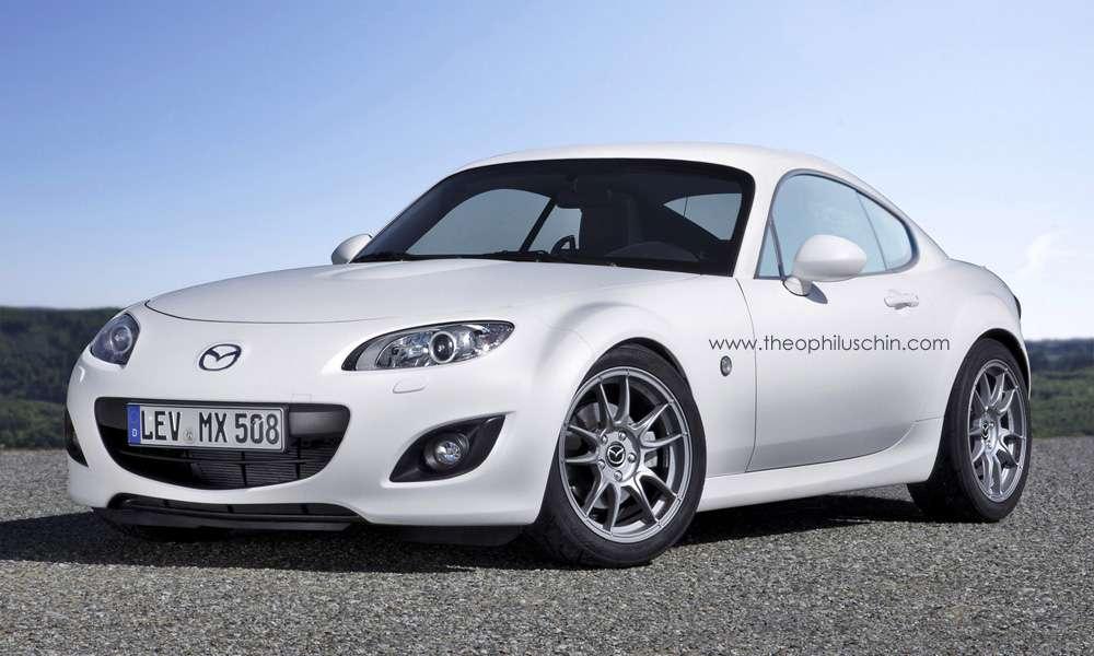 Mazda MX-5 Coupe Rendering