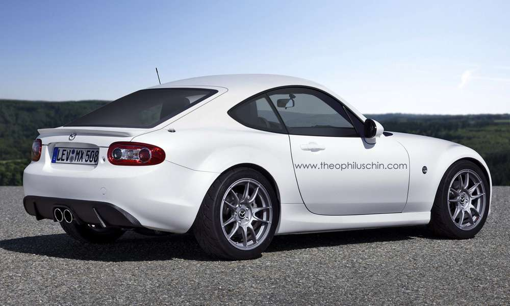 Mazda MX-5 Coupe Rendering