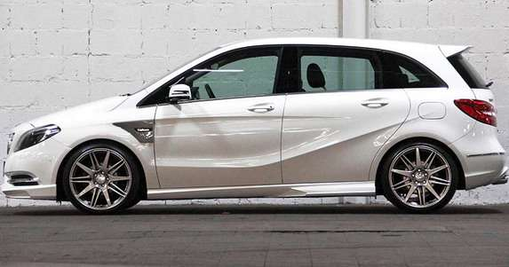 Mercedes B klasa Carlsson tuning