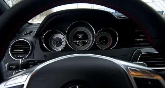 Mercedes klasy C zegary