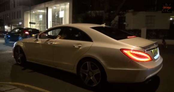 Mercedes CLS63 AMG Burnout
