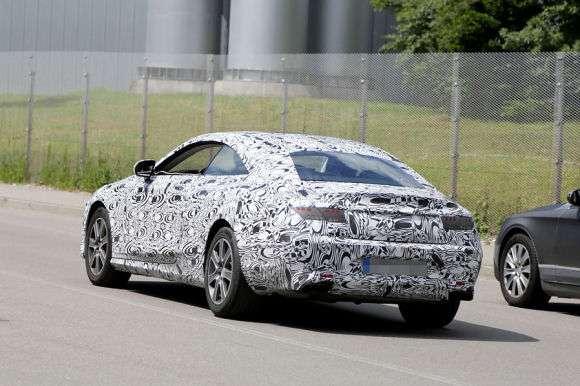 Mercedes S Coupe 2014 szpiegowskie