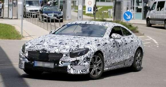 Mercedes S Coupe szpiegowskie