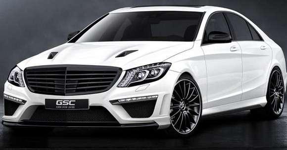 Nowy Mercedes klasy S tuning
