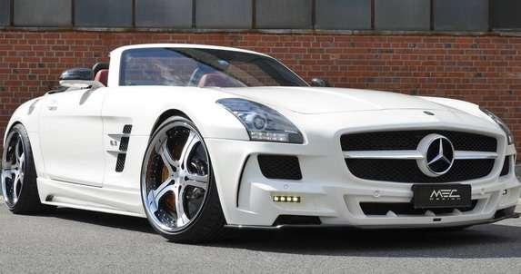 Mercedes SLS AMG Roadster MEC Design