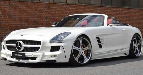 Mercedes SLS AMG Roadster tuning