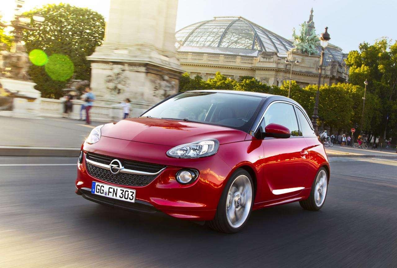 Opel Adam trzycylindrowy silnik