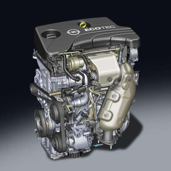 Opel Adam silnik trzycylindrowy