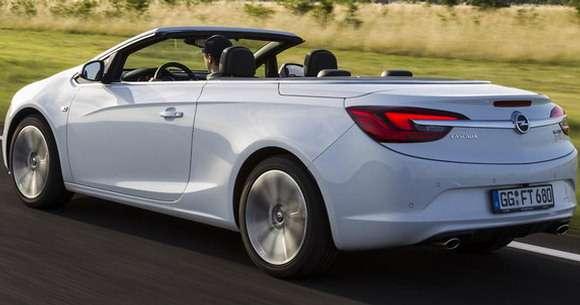 Opel Cascada tył rear