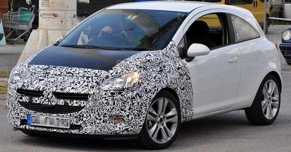Opel Corsa facelift 2014