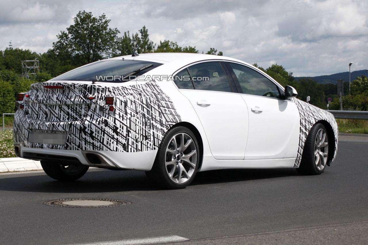 Opel Insignia OPC 2014 szpiegowskie