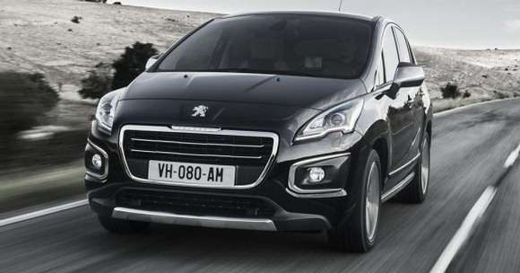 Peugeot 3008 facelifting 2014