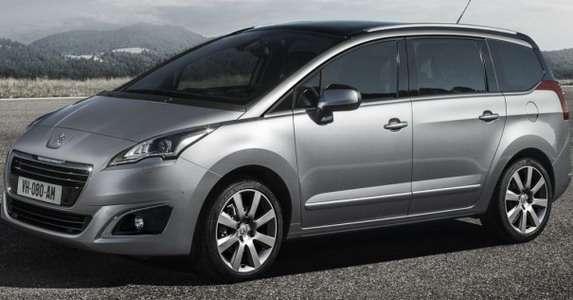 Peugeot 5008 Facelift 2014